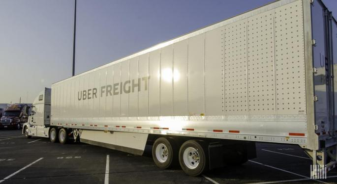 Uber 'Re-Evaluating' Non-Core Units Like Freight, WSJ Reports