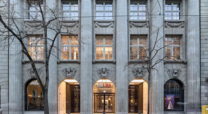 UBS acuerda pagar 10M$ para liquidar los cargos de violación de venta de bonos con la SEC