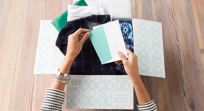 Stitch Fix's Direct Buy Option Comes At The Right Time: Deutsche Bank