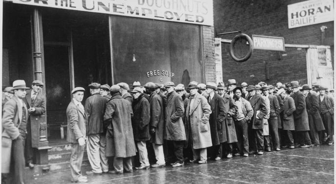 This Day In Market History: Dow Hits Great Depression Low