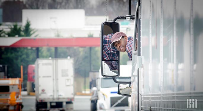 News Alert: 12,700 More Truck Transportation Jobs In November
