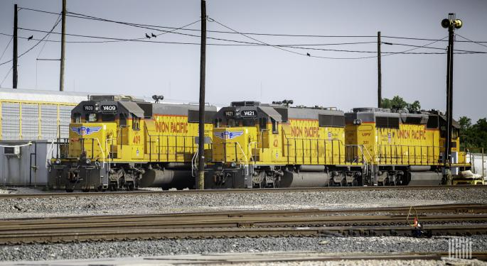 Union Pacific Expects Q4 OR In Mid-50s, Details Brazos Yard Plans