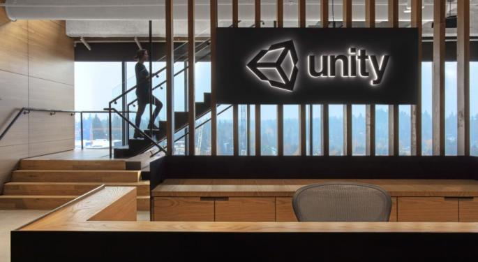 BofA Downgrades Unity Software: 'Most Of Near-Term Upside Is Priced In'