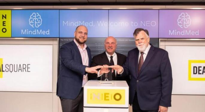 Is MindMed Creating The Tesla Of Mental Health? Thoughts From CEO JR Rahn, Investor Kevin O'Leary