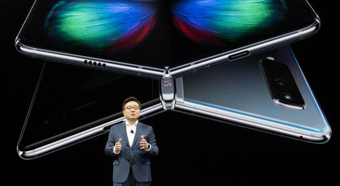 Samsung Reveals Foldable Smartphone, New S-Series Lineup: 'A Potential Problem For Apple'