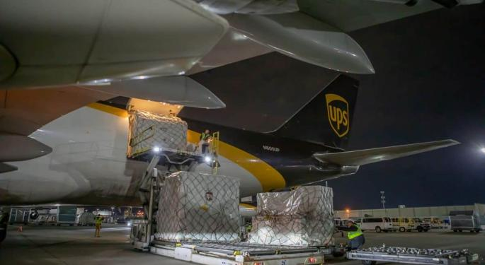 UPS Plays Multilayered Logistics Role In FEMA Relief Effort With Video