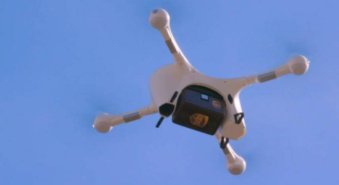 UPS Expands Drone, Other Operations For Healthcare Companies; Broadens E-Commerce Reach For Smaller Businesses