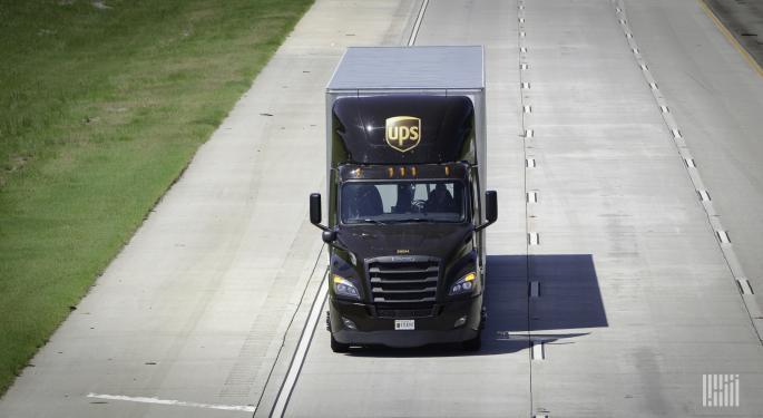 UPS Shreds Fourth-quarter Estimates As Demand Surged