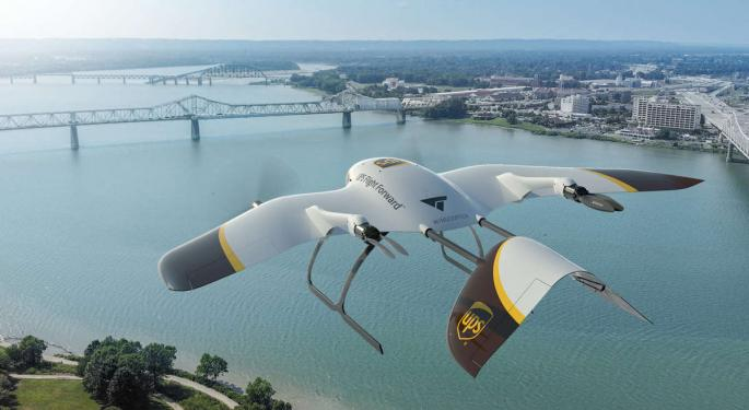 UPS Seeks To Accelerate Growth Of Drone-Delivery