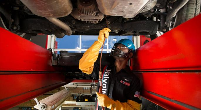 Valvoline To Benefit From Share Gains, IT Investments, Jefferies Says In Bullish Initiation
