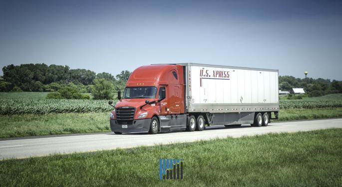 U.S. Xpress OR Improves; Driver Squeeze Limits Miles Driven