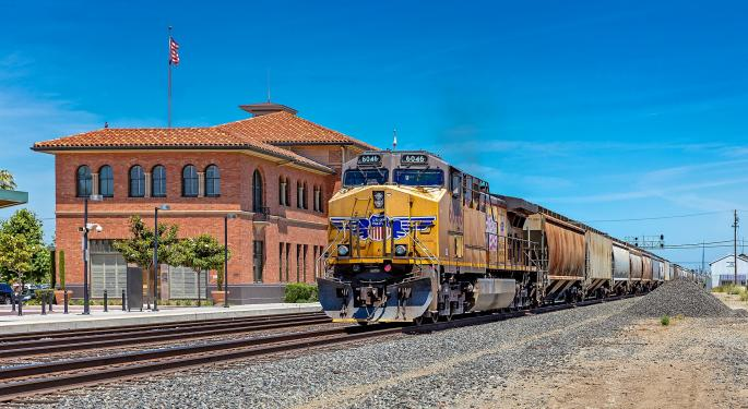UBS Cuts Union Pacific's Price Target On Weaker Volumes