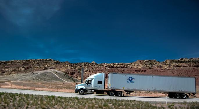USA Truck's Performance Was Helped By Something It Didn't Want To Happen: OEMs Aren't Delivering Trucks On Time