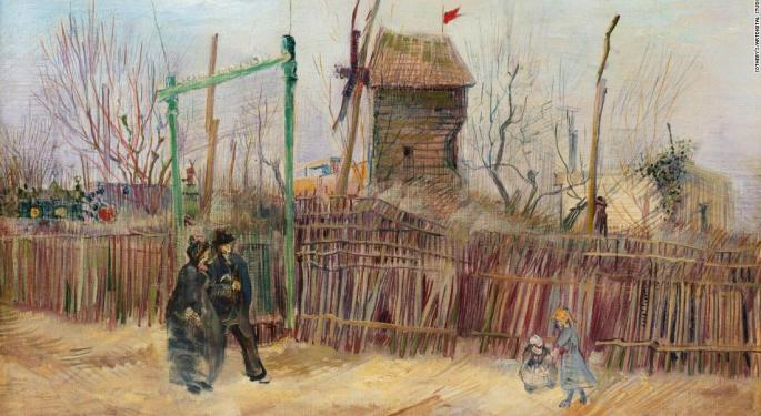 Rare Van Gogh Painting Sells At Auction For $15.4M