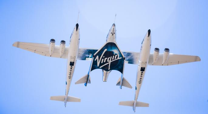 UBS, bajista con las acciones de Virgin Galactic