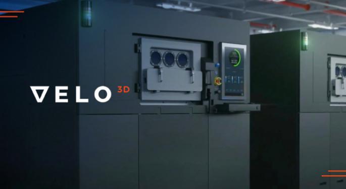 Velo3D podría salir a bolsa mediante fusión de SPAC
