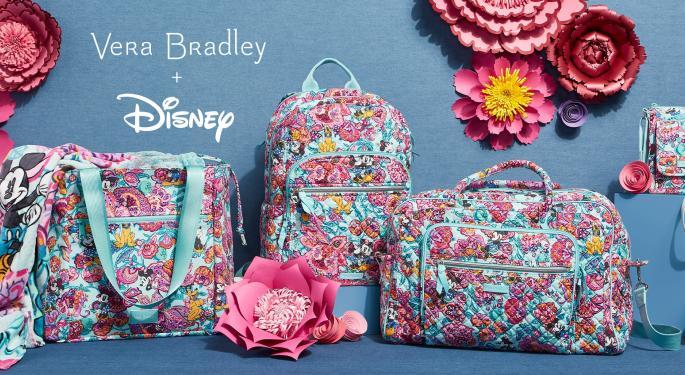 Disney Partners With Vera Bradley To Launch New Merchandise