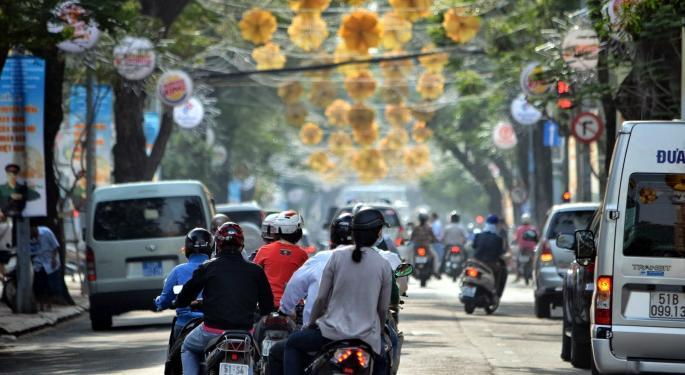 This Day In Market History: Vietnam Stock Exchange Opens