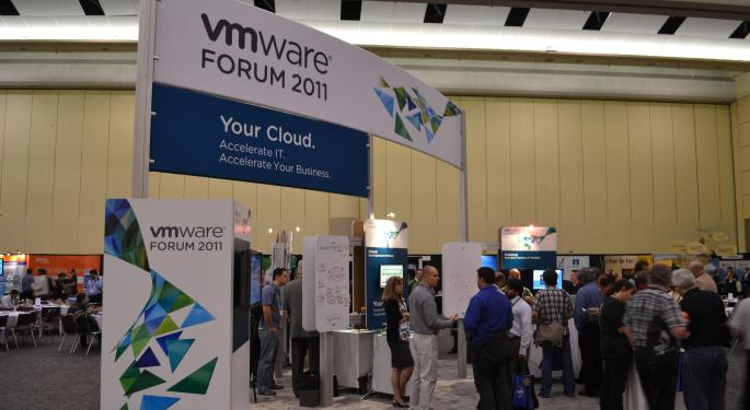 VMware 'Clearly Executing Well' Following Solid Q1