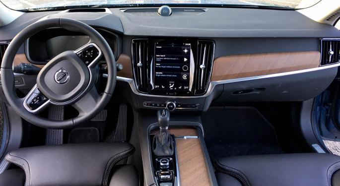 Volvo Expects Up To A Month Of Chip Shortage Downtime