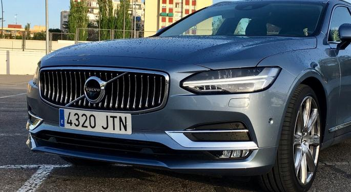 Volvo Finding Early Success With Subscription-Based Car Model