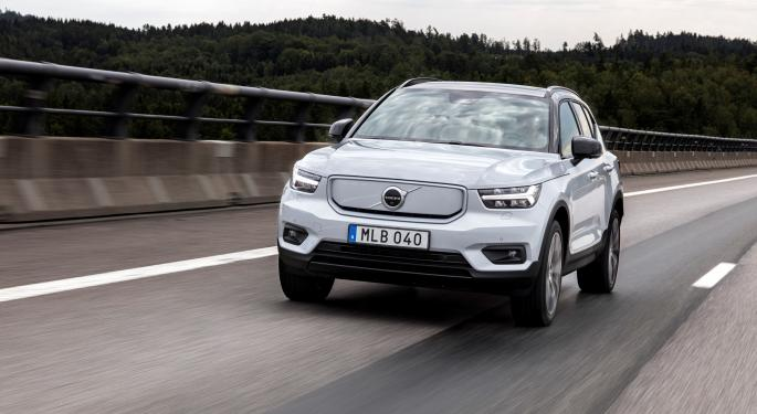 Volvo Plans For All-Electric Vehicles By 2030