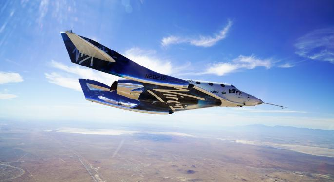 What's Going On With Virgin Galactic Today?