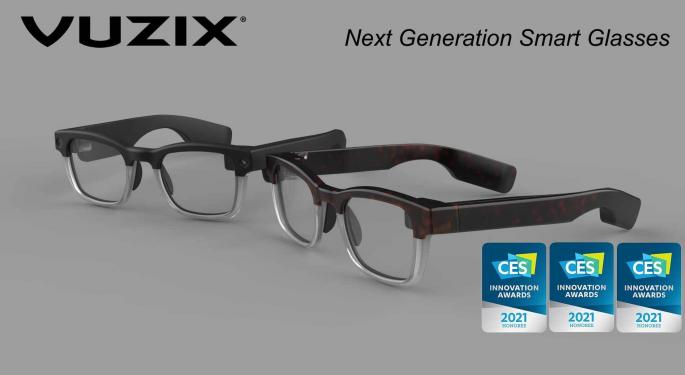 Vuzix Augmented Reality Is Bringing The Future of Smart Glasses