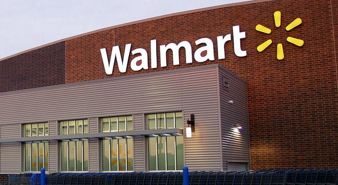 Why Walmart Stock Is Trading Higher Today