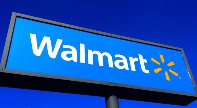 Option Trader Makes Massive $1.4M Bet On Walmart