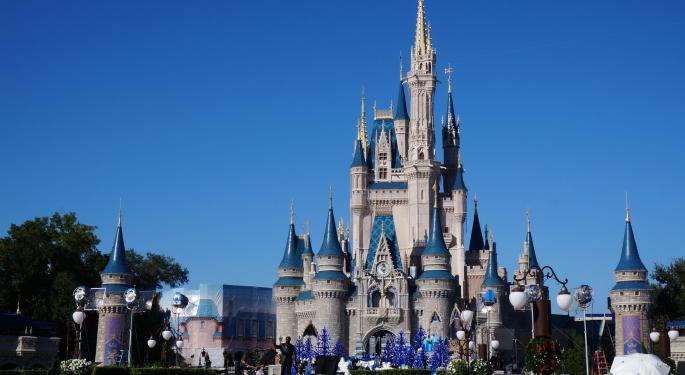 Why Disney's Stock Is Trading Higher Today