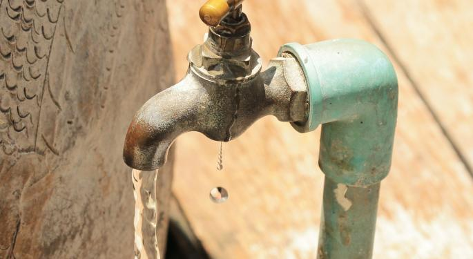American Water Works Leaks After Making All-Time High
