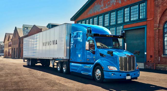 Waymo Picks Dallas For Driverless Trucking Hub