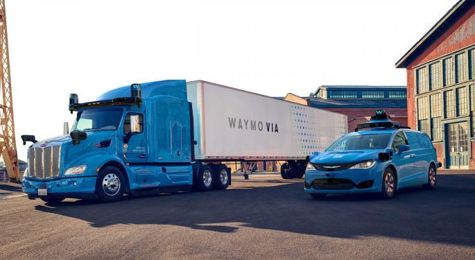 Alphabet Self-Driving Subsidiary Waymo Raises $2.25B In First External Funding