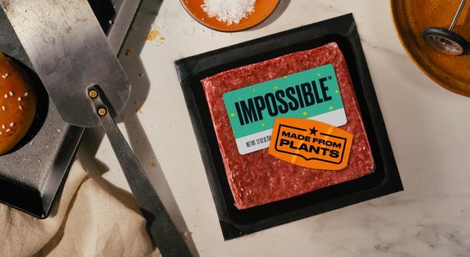 Impossible Foods saldrá a bolsa con una valoración de 10.000M$