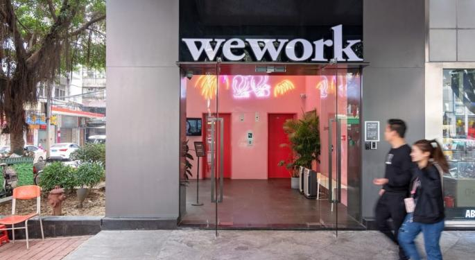 WeWork's Market Share Falls By Half Following Botched IPO, Report Says