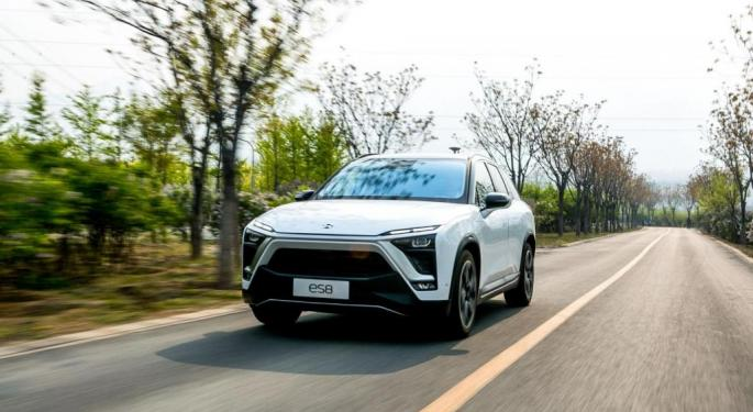 New Chinese EV Maker Nio Surges On First Earnings Print