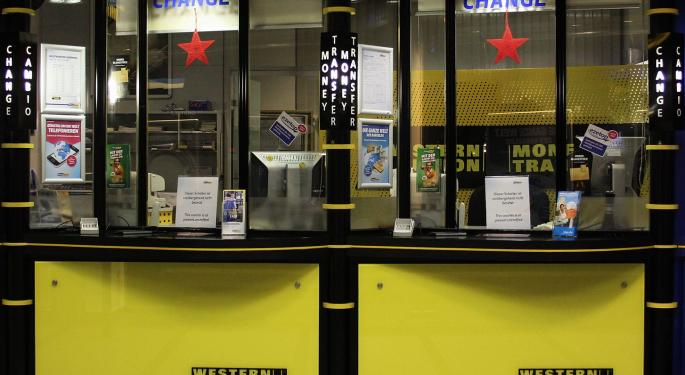 BofA Downgrades Western Union On Valuation, Says Visibility Limited