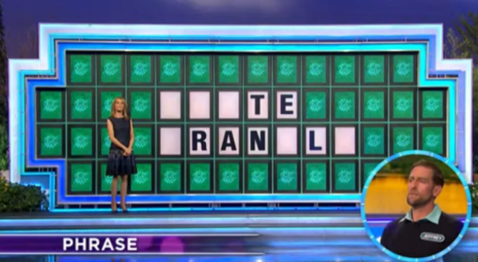 Pat Sajak Accidentally Reveals 'Wheel Of Fortune' Answer During Game