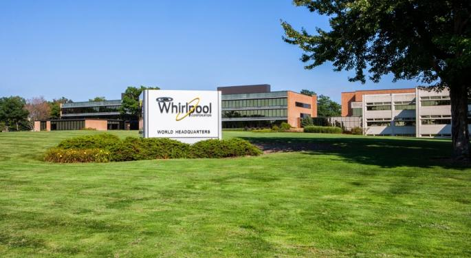 KeyBanc Appreciates Whirlpool's Prospects But Moves To The Sideline