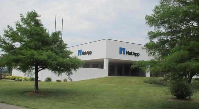 NetApp's Business Still Sluggish