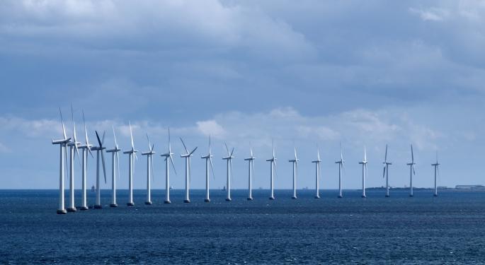 Off-Shore Wind Energy