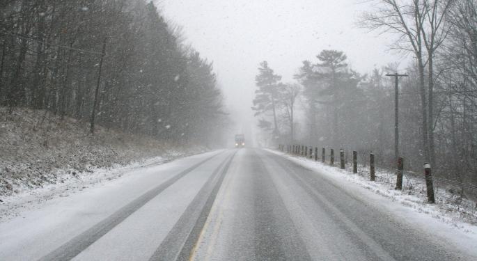 LTL Carrier Forward Suspends Service During Winter Storm