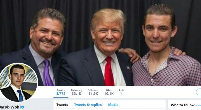 The Latest On Jacob Wohl, The Teenage Hedge Fund Manager Trump Loves To Retweet