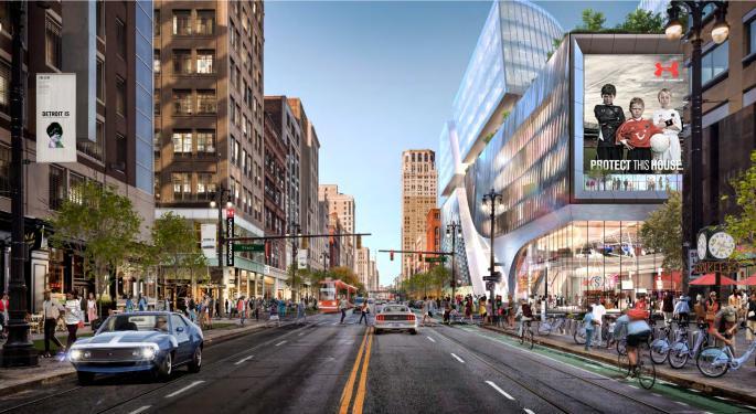 Dan Gilbert Has A Huge Vision For Detroit's Old Hudson's Site: The City's Tallest Building