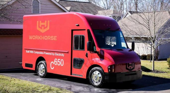 Why Workhorse Shares Rallied 13% Today
