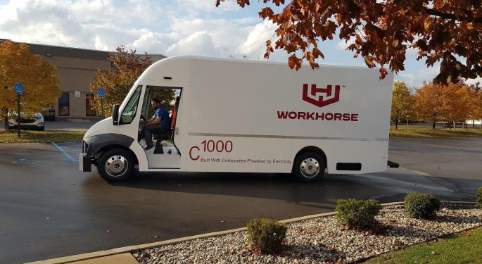 Why Workhorse's Stock Is Trading Higher Today