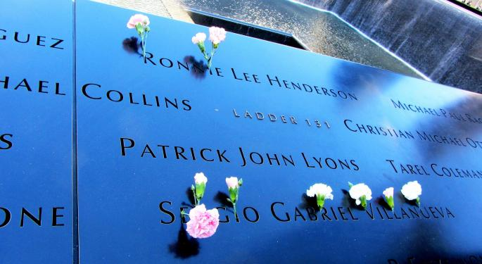 One Trader's Account Of September 11, 2001