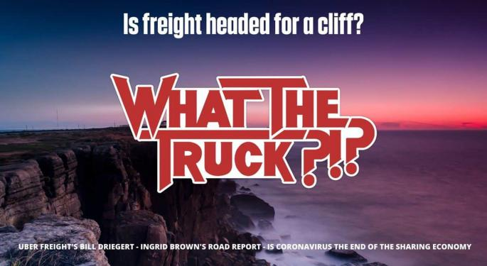 Is Freight Headed For A Cliff? With Video