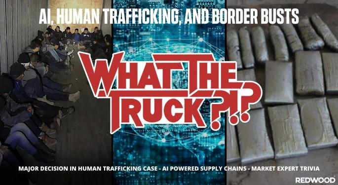 AI, Human Trafficking And Border Busts With Video